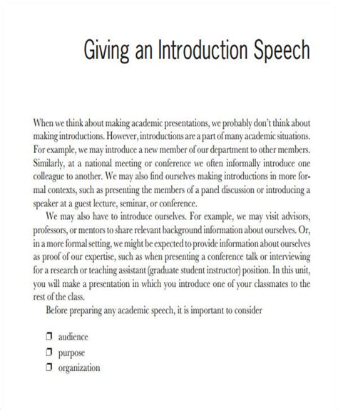 Sle Personal Introduction Speech introduction speech for 28 images 36 introduction