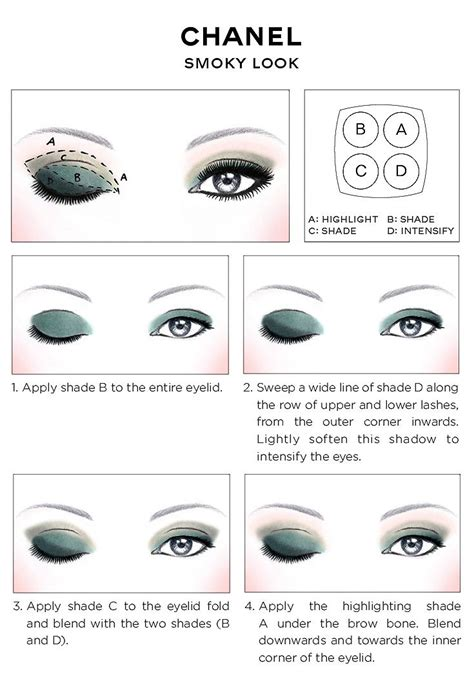 Tutorial Eyeliner Chanel | 25 best ideas about chanel eyeshadow on pinterest