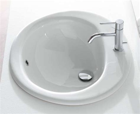 lavabo 224 encastrer 224 poser finition blanc brillant