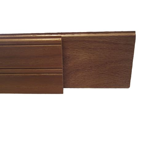 Oak Wainscoting Lowes shop 8 ft stained oak edge and center bead wainscot at lowes