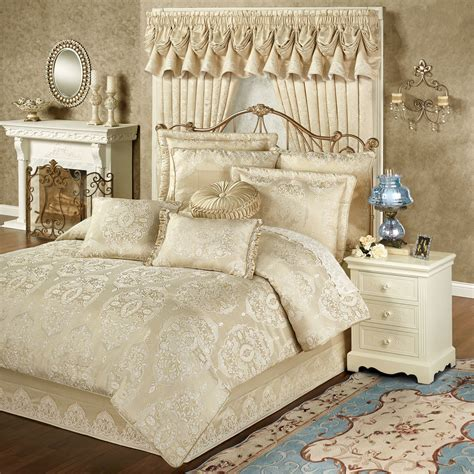 gold bed comforters francesca light gold comforter bedding