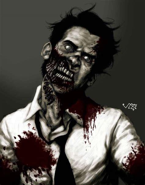 zombie painting tutorial johnny s digital painting tutorial zombie self portrait