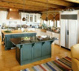 retro kitchen island vintage unfitted kitchen design