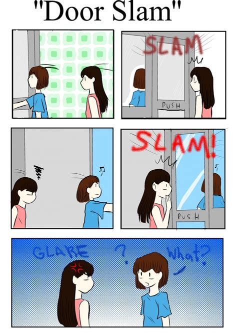 Slam The Door by Door Slam By Artgrrl