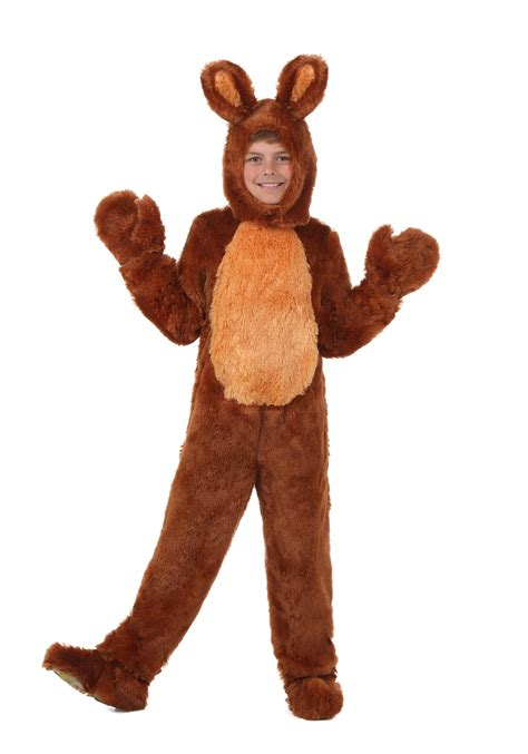 bunny costume child brown bunny costume