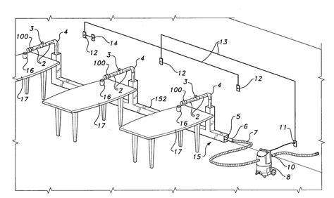 nail table ventilation systems patent us20090081936 salon ventilation system