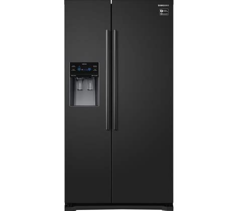 Samsung American Fridge Freezer No Plumbing by Buy Samsung Rs53k4400bc American Style Fridge Freezer Black Free Delivery Currys