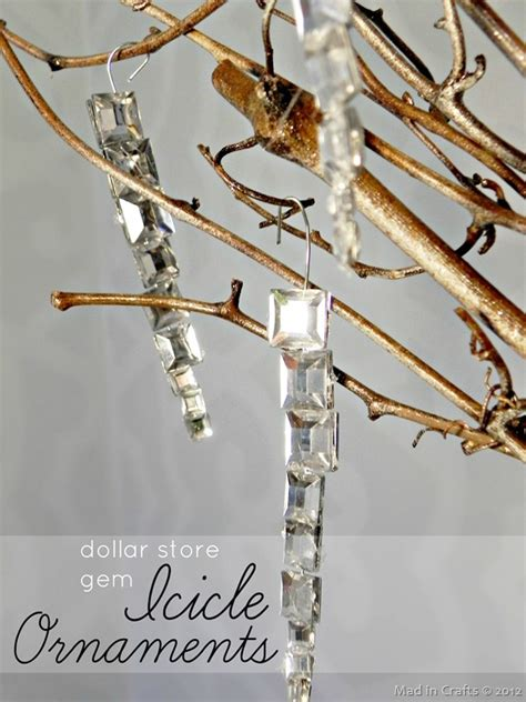 decorations icicles 6 cool diy icicle decorations for and new year
