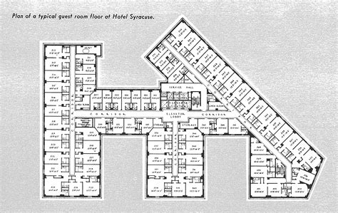 Hotel Floor Plans | hotel syracuse
