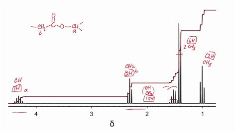 Proton Nmr Practice Problems by How To Determine Structure Of An Ester From Proton Nmr