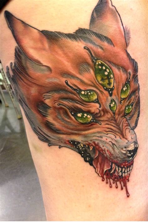 wolf head tattoo animal tattoos and designs page 18