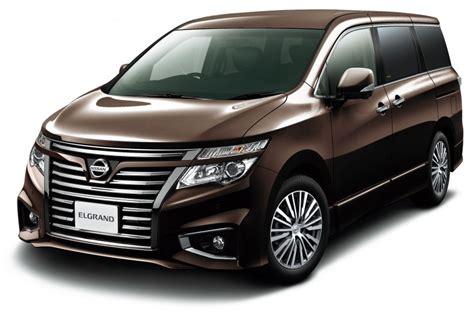 luxury minivan 2014 nissan elgrand japan s king of luxury minivans