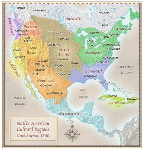 american cultural map american cultural regions map america 1500