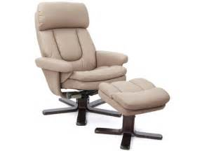 fauteuil relaxation repose pieds charles coloris taupe
