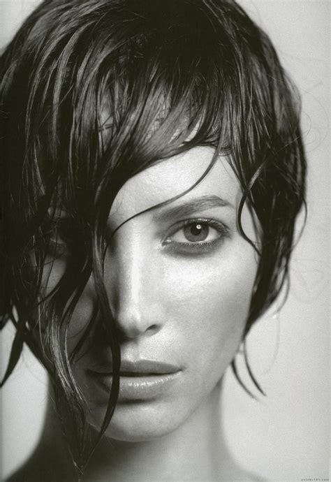 kristy turligton short hair this picture of christy turlington makes me want short