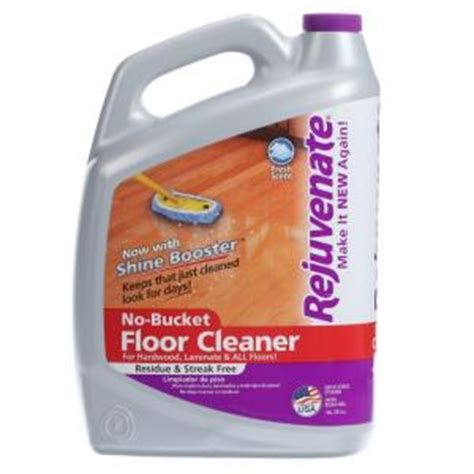 rejuvenate 128 oz floor cleaner rj128fc the home depot