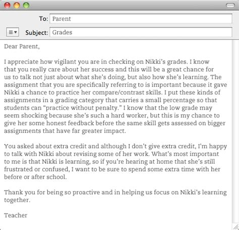 Parent Letter Explaining Edmodo Sle Letter To Parents From When Student Is Failing Just B Cause