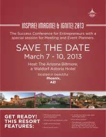 Save The Date Business Event Templates Please Save The Date March 7 10 2013 For The Success