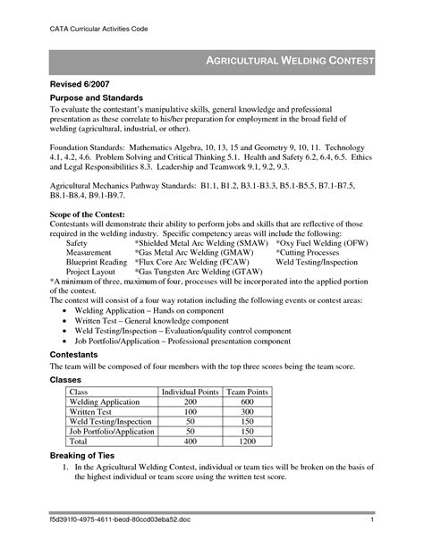 Tig Welder Cover Letter by Tig Welder Resume Resume Ideas