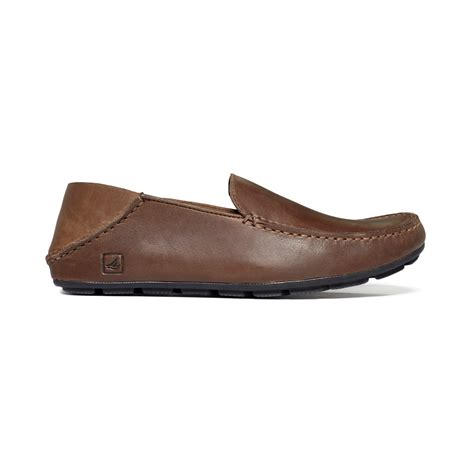 top sider loafers sperry top sider wave driver convertible loafers in brown