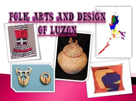 folk arts and design of luzon