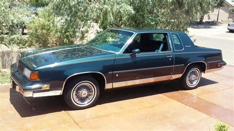 oldsmobile cutlass supreme 1988 oldsmobile cutlass supreme classic brougham coupe for