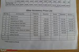 Honda Price List Honda Shine Bikes Price List
