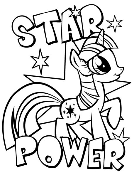 free printable coloring pony coloring page 24 in my pony 3 coloringcolor