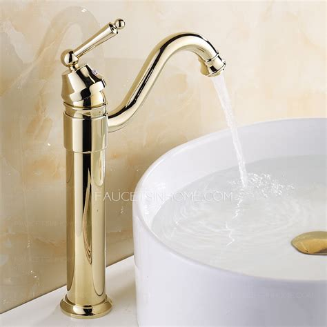 changing a bathroom sink retro gold vessel heightening brass bathroom sink faucet