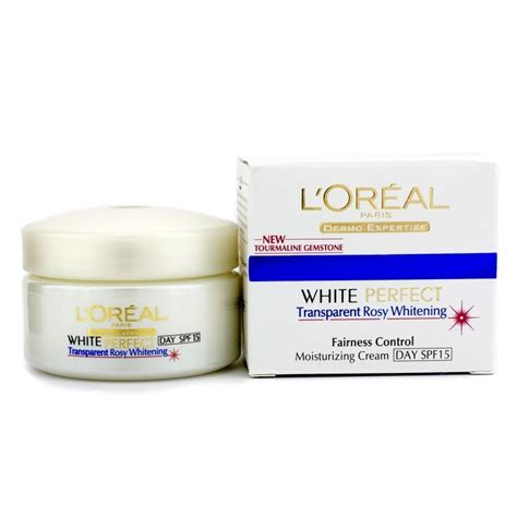 L Oreal White l oreal dermo expertise white transparent rosy whitening moisturizing day spf 15