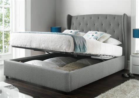 double bed frame with storage upholstered double bed frame with storage bed frames ideas