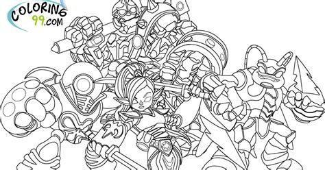 eye brawl skylander coloring page skylanders giants coloring pages team colors