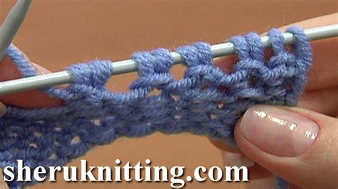 increase knit stitch at end of row increase stitches purl stitch on row below tutorial 8