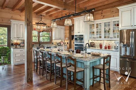 vacation home kitchen design what an adorable log home kitchen log cabin kitchen