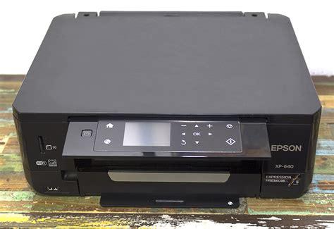 Printer Epson Xp 640 epson expression premium xp 640 small in one printer