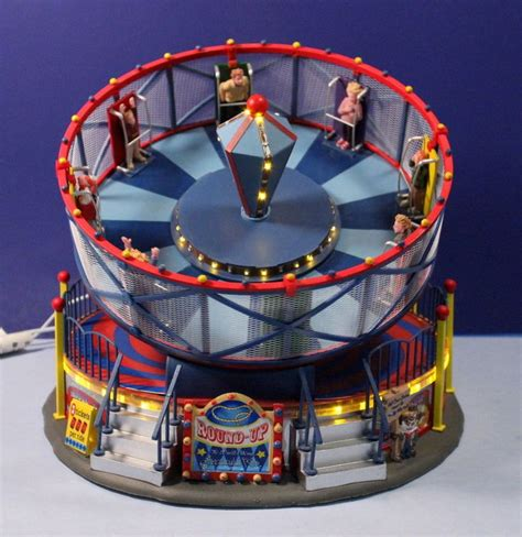 lemax carnival round up animated lighted amusement park
