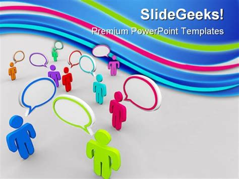 powerpoint templates for communication presentation disorganized communication powerpoint backgrounds and