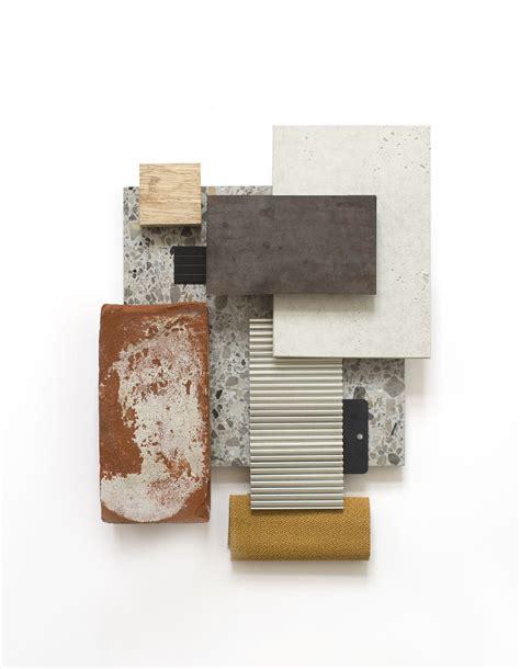 earthy materials diagram mood board interior material board