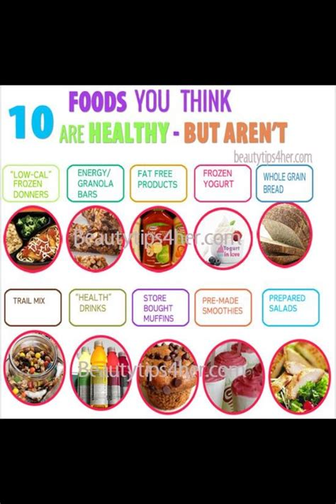7 Foods You Thought Were Healthy But Arent by 10 Foods That You Think Are Healthy But Aren T Musely