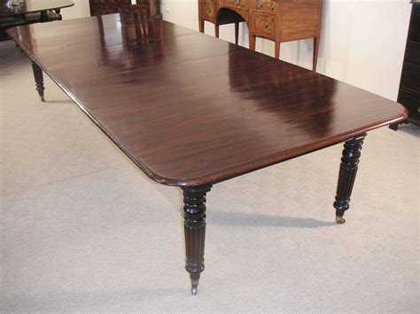 Dining Table Seat 10 Mahogany Extending Dining Table To Seat 10 14 For Sale At 1stdibs
