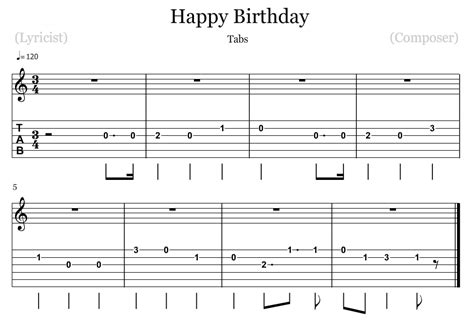 happy birthday song chords how to play happy birthday on guitar my blog
