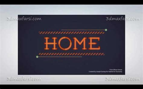 after effects tutorial typography motion graphics آموزش تایپ افترافکت after effects typography motion