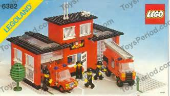 Dimensions Of 3 Car Garage Lego 6382 Fire Station Set Parts Inventory And