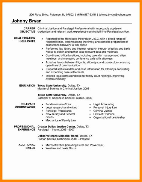 Immigration Paralegal Resume by 10 Sle Paralegal Resume Sap Appeal