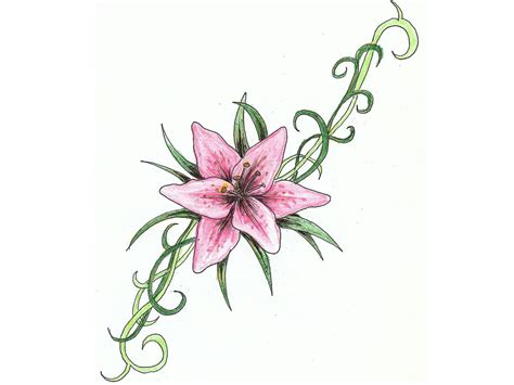 tribal lily tattoo designs tribal lilies and designs in 2017 real photo