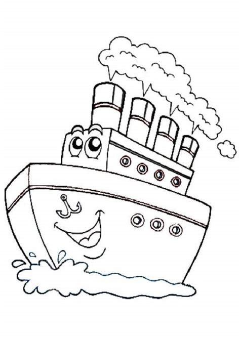 dibujos de barcos para imprimir y colorear mar dibujos para colorear