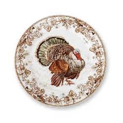 plymouth turkey dinner plates set of 4 williams sonoma