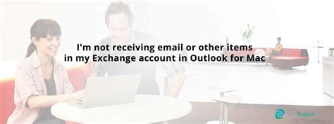 not receiving email in exchange account in outlook for mac