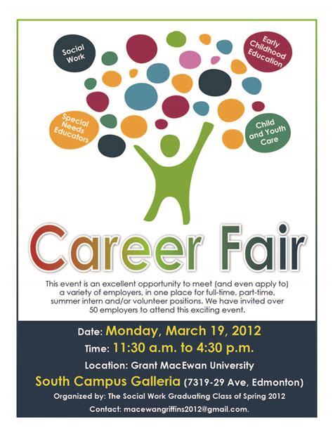what makes a successful career fair career services