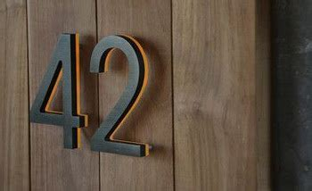 house numbers buy 3d illuminate metal house numbers and letters buy house number metal number illuminate number
